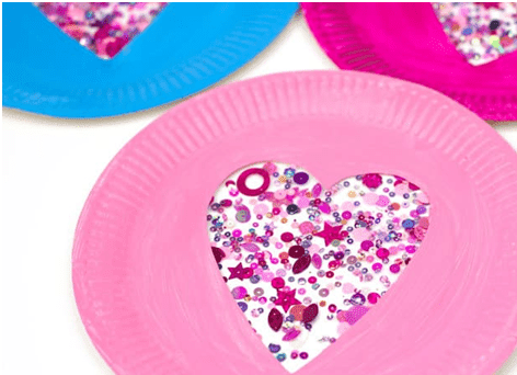 Sequin Paper Plate