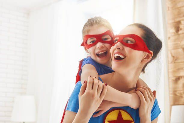 my mom Superhero