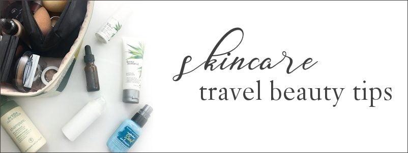 skin care travel