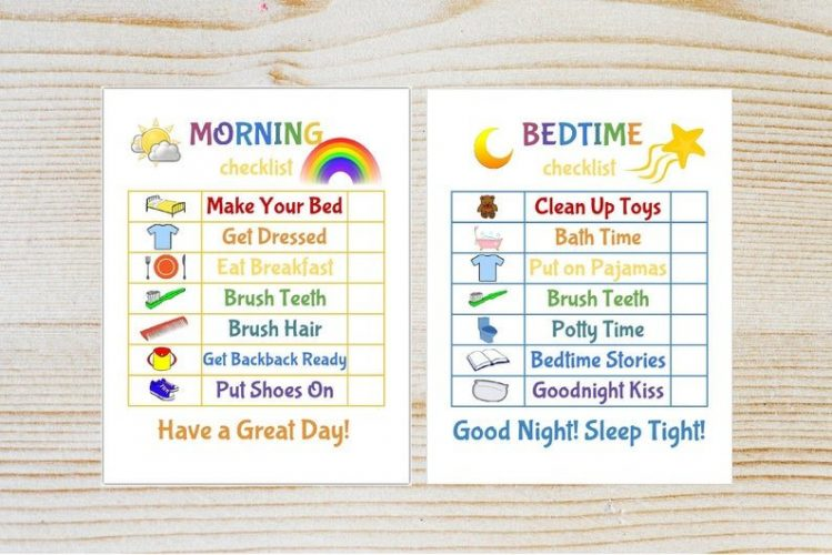 bed time plan