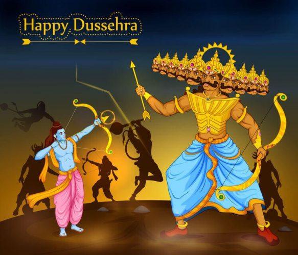 Happy dusheraa