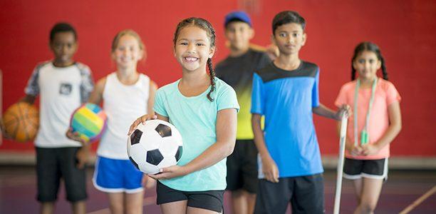 Athletic kids