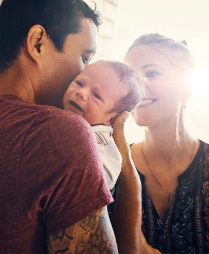 New Parents Face