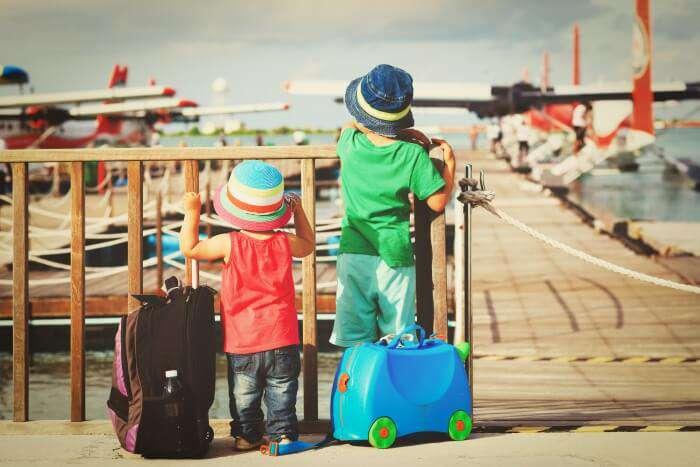 Travel turns kids