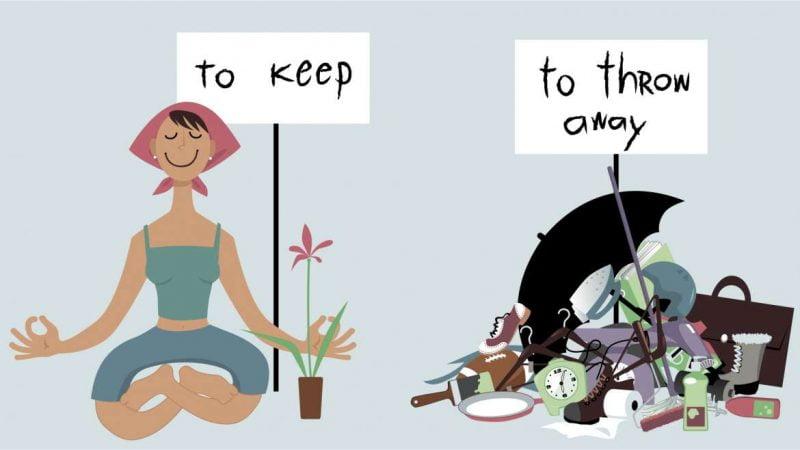 De-clutter your place