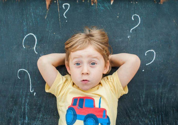 kids questioning