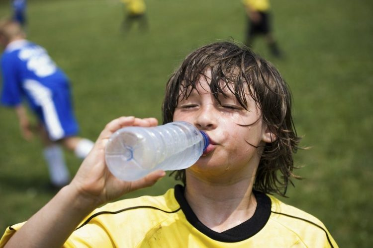 kids hydrated
