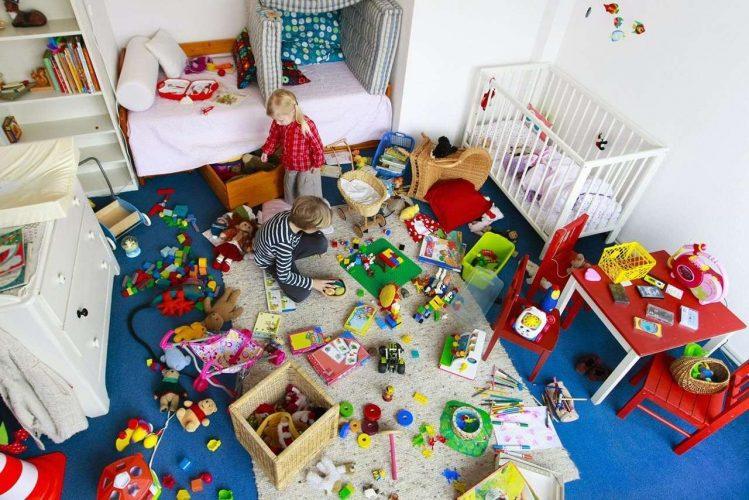 kids toys clean