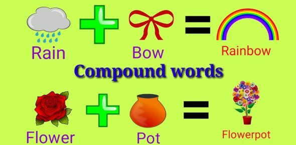 Compound words forming activities for kids