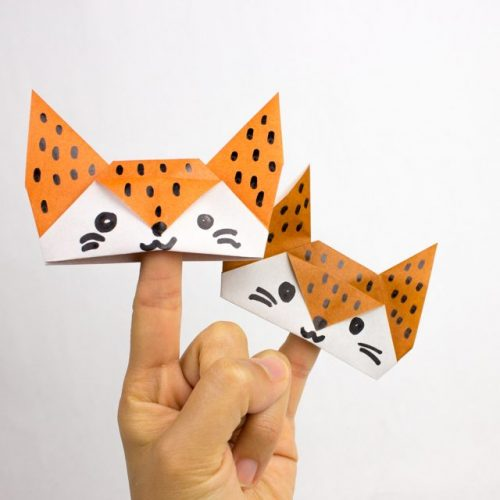 Finger Puppets Origami