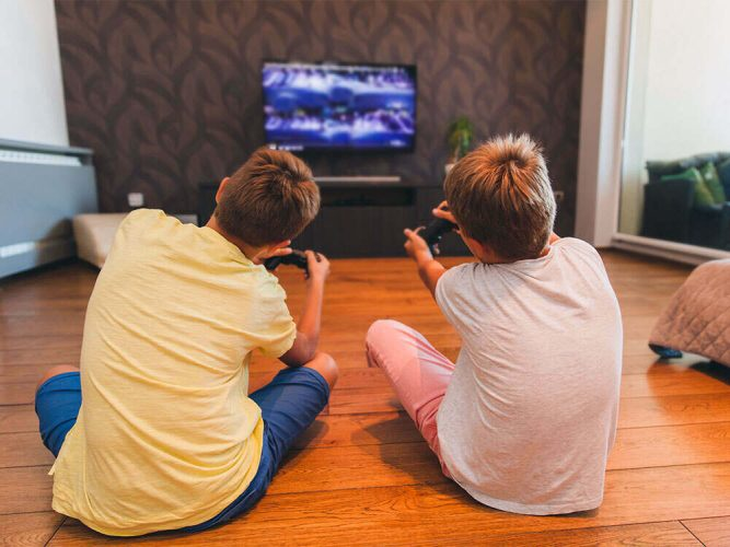 Monitoring kids access to television