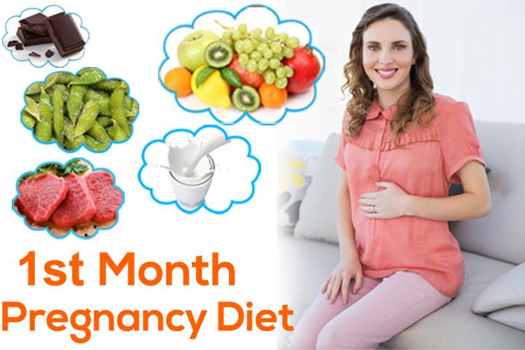 Month 1 Pregnancy Diet chart