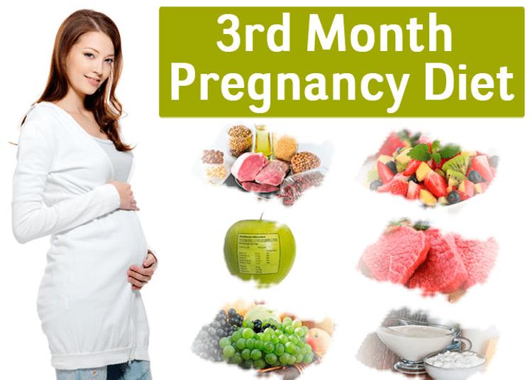 Month 3 Pregnancy Diet chart