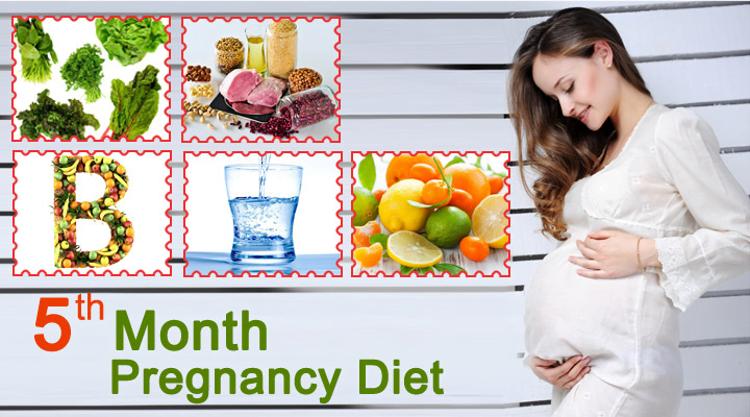 Month 5 Pregnancy Diet chart