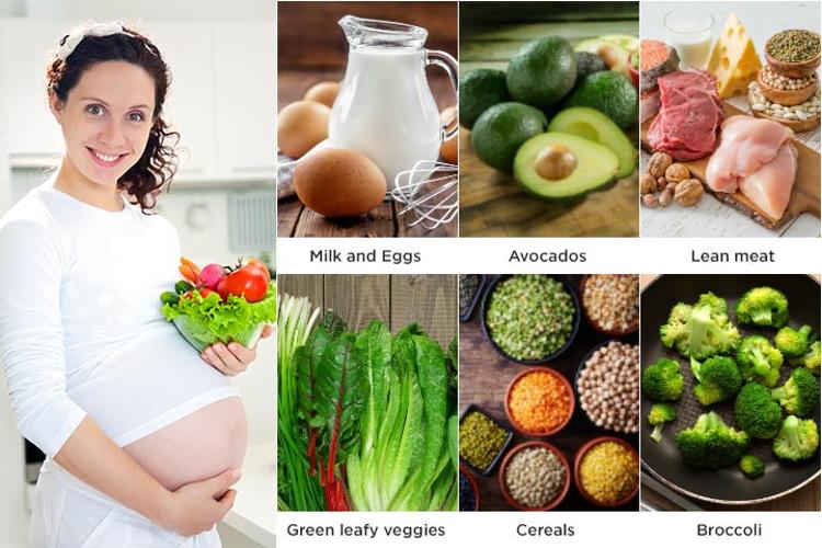 Month 8 Pregnancy Diet chart