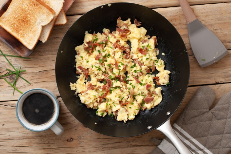 eggs with bacon Recipes