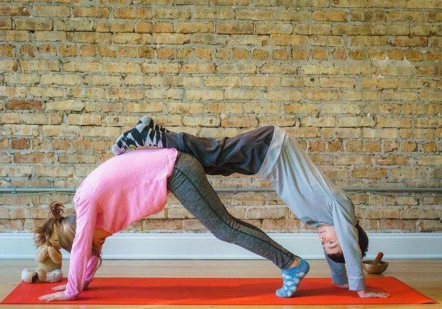 Downward Face Yoga