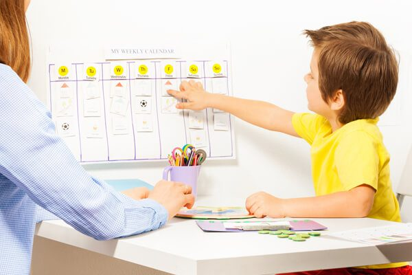 child schedule