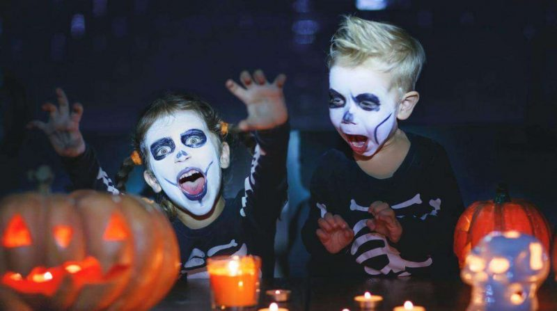 halloween celebrations at home