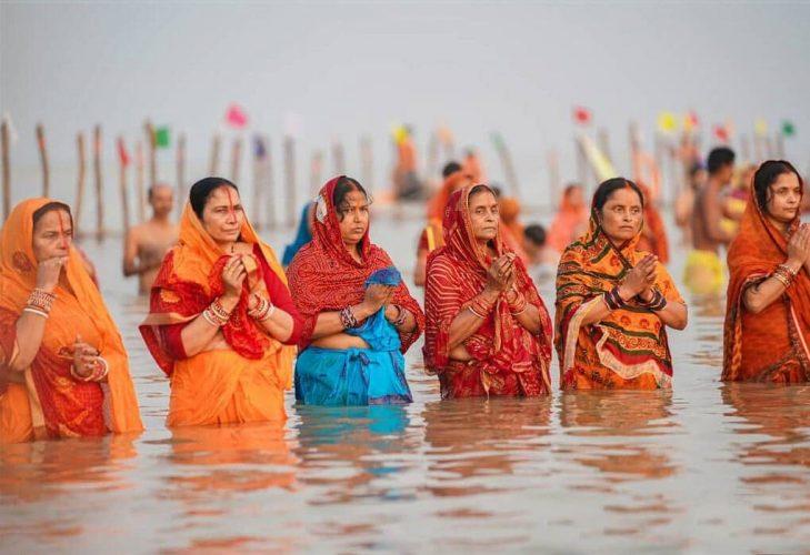 Chath Puja Celebration