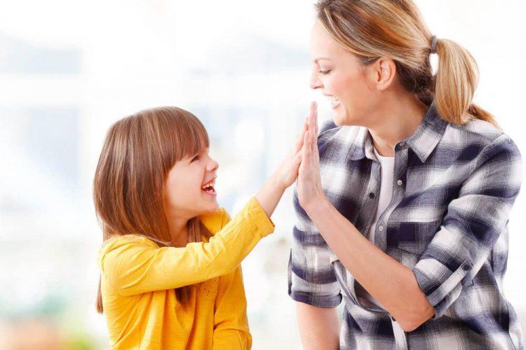 Parents appreciating kids