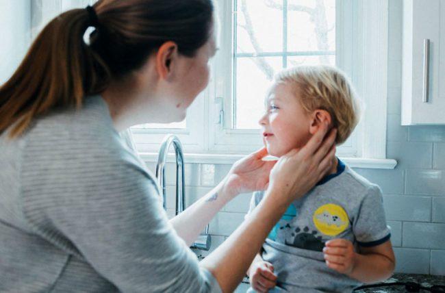 ear pain in kids
