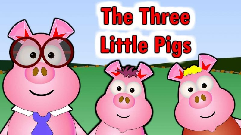 The Three little pigs poem